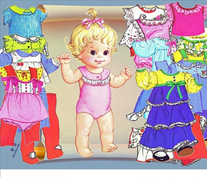 Как одеть куклу своими руками фото